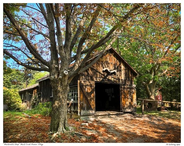 """""""Blacksmith Shop"""" Black Creek Pioneer Village"""