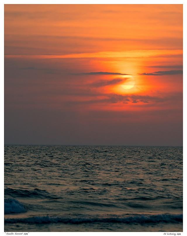 """""""Sauble Sunset 2018"""""""