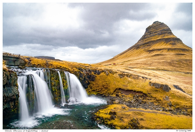 """October Afternoon at Kirkjufellfoss"" - Iceland"