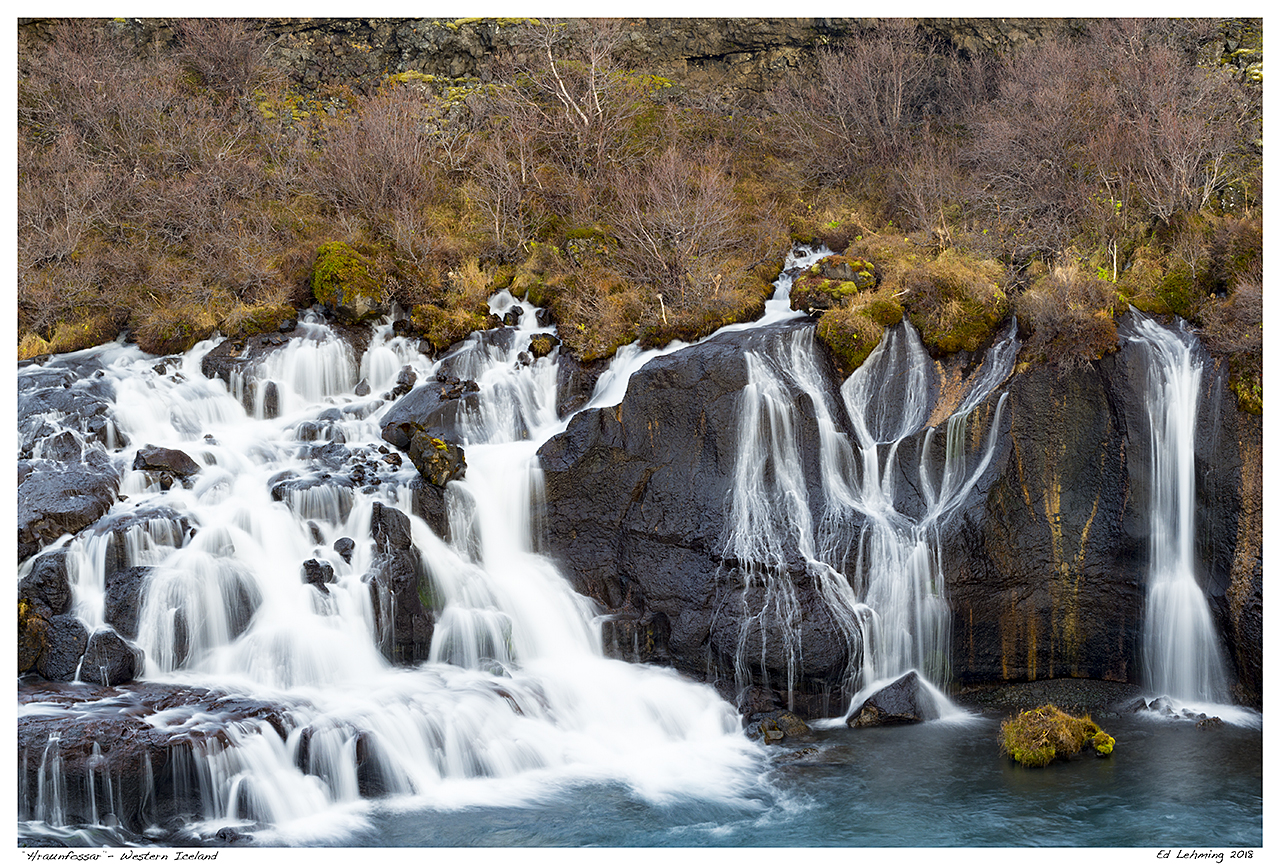 """Hraunfossar""- Western Iceland"