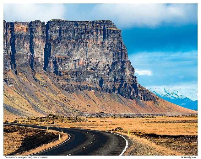 """Monolith"" - Lómagnúpsnef, South Iceland"