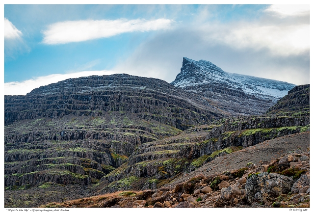 """Steps to the Sky"" - Djúpavogshreppur, East Iceland"