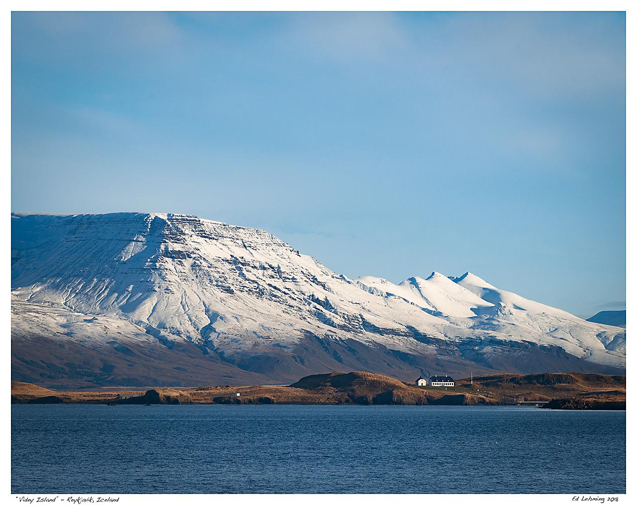 """""""Videy Island"""" - Reykjavik, Iceland"""