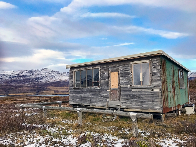 Cabin near Fáskrúðsfjörður, East Icelend