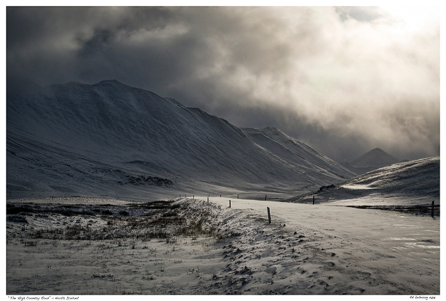 """""""The High Country Road"""" - North Iceland"""