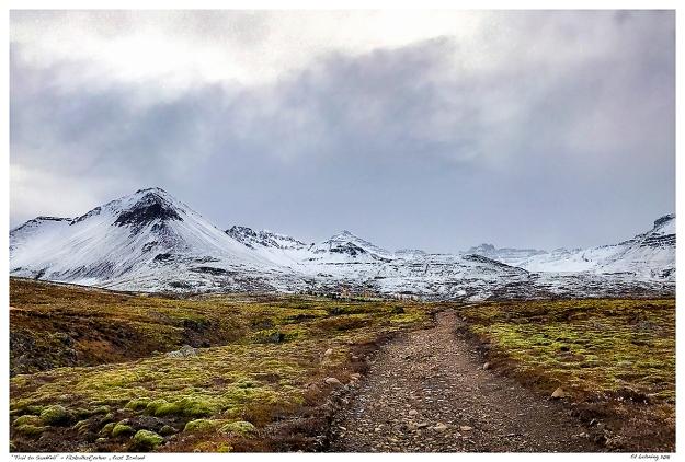 """""""Trail to Sandfell"""" - Fáskrúðsfjörður , East Iceland"""
