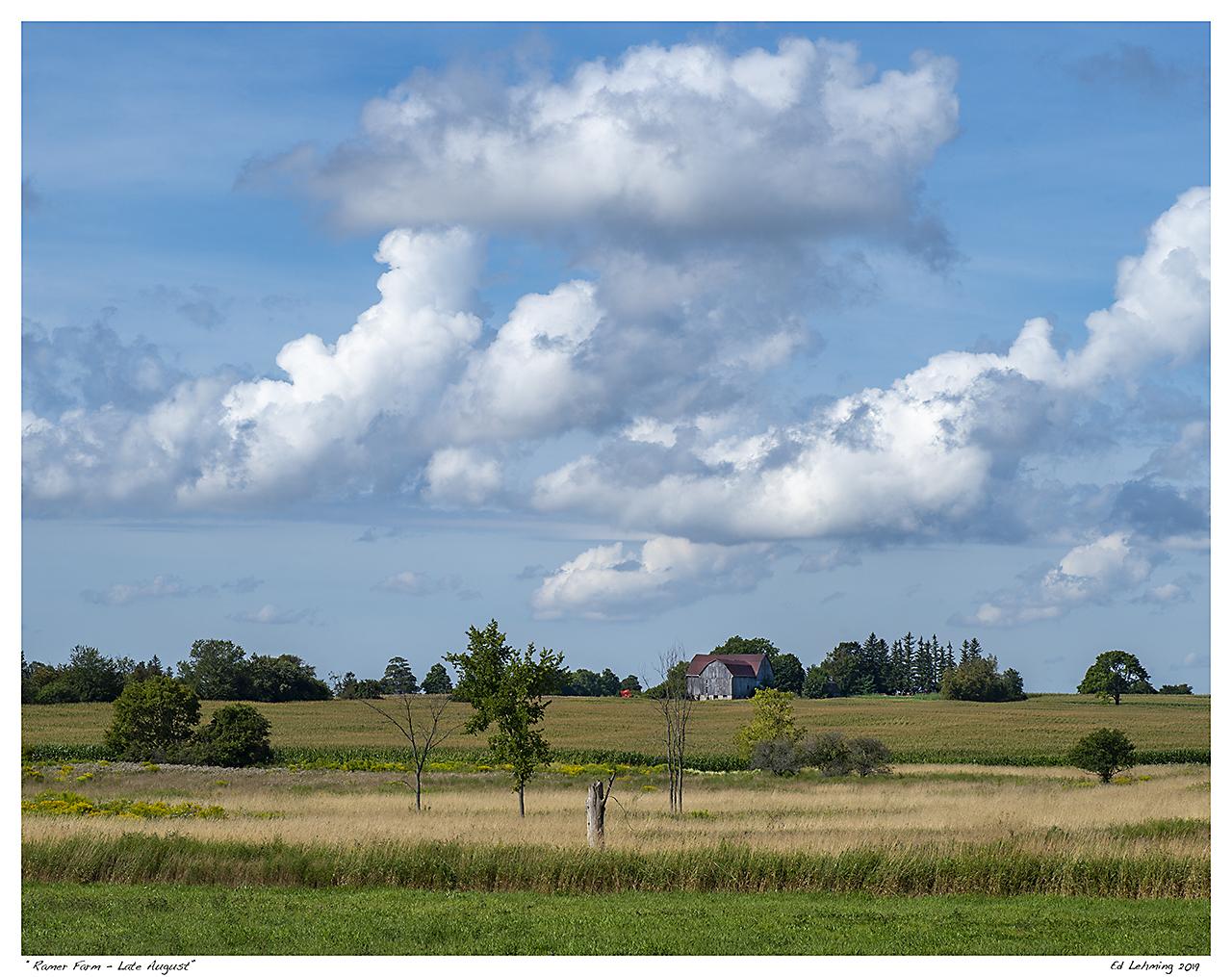 """""""Ramer Farm - Late August"""""""